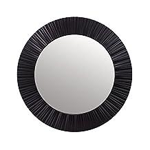 Espejo precio 20 descuento for Espejo redondo negro
