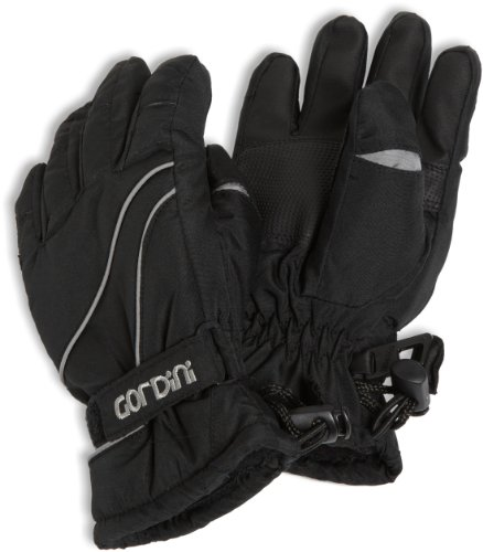 Gordini Tot's Prima III Glove, (Black, Large)