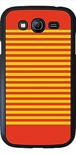 Funda para Samsung Galaxy Grand i9082 - Rojo Anaranjado