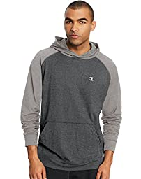 Champion Men\'s Vapor Cotton Pullover Hoodie, Granite Heather/Oxford Gray, XX-Large