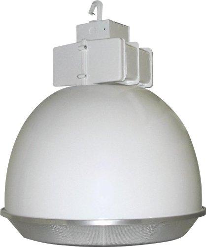 RAB BLH250AW22DLPSQ Low Bay 250W-Metal Halide Psqt 22-White Color Al Reflector + Drop Lens + (Rab Electric Low Bay)
