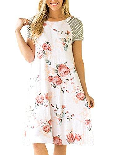 ivory a line dress - 9