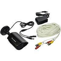 First Alert CM700 Smartbridge Series Wired 700TVL Indoor/Outdoor Bullet Security Surveillance Camera