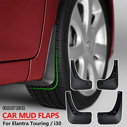 XUKEY Auto Molded Splash Guards For Elantra Touring i30 i30cw 2007-2012 Mud Flaps Front /& Rear 4 Pieces Set