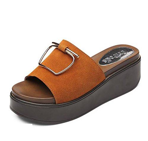Planas A B Verano Antideslizantes color Tamaño Moda Casa De Sandalias Zapatillas Fafz sandalias 39 Mujer x8wCPqxUg