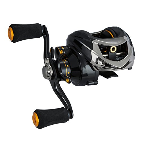 Piscifun Tuned Magnetic Brake System Low Profile Baitcaster Baitcasting Fishing Reel Right Handed