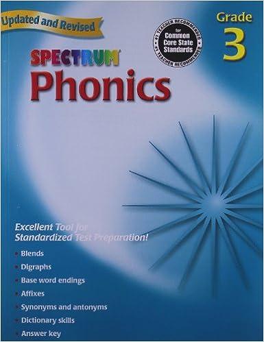 Amazon.com: Spectrum Phonics, Grade 3 (0087577959931): School ...