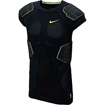 Nike - Camiseta de fútbol americano Pro Hyperstrong 3.0 Compression 4-Pad (X-