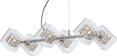 George Kovacs P803-077, Jewel Box 6-Light Island Fixture, ()