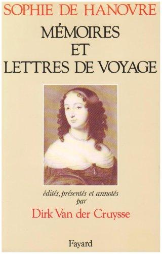 Mémoires et lettres de voyage