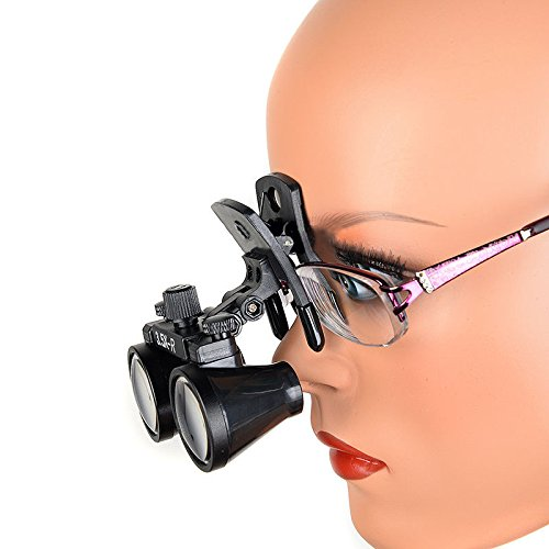 Zgood Dental Binocular Loupes Surgical Glasses Magnifier Clip on Style DY-110 3.5X-R by ZGood (Image #3)