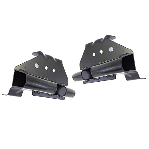 Titanium Plus Autoparts, 1999-2002 Fits For Chevy Silverado 1500/GMC Sierra 1500 | 2000-2006 GMC Yukon/2000-2006 Chevy Tahoe | 2002-2006 Cadillac Escalade Front,Left,Right Pair Bumper Bracket