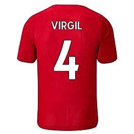 Virgil Van Dijk # 4 Maillot de Foot Homme