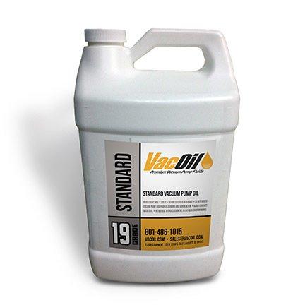 VacOil 19 Grade Vacuum Pump Oil - 1 Gallon