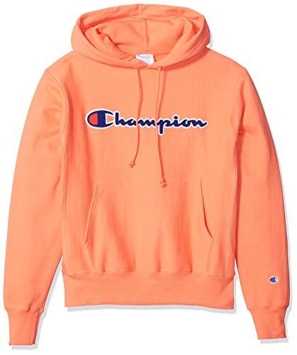 Champion LIFE Men's Reverse Weave Pullover Hoodie, Groovy Papaya, X Small
