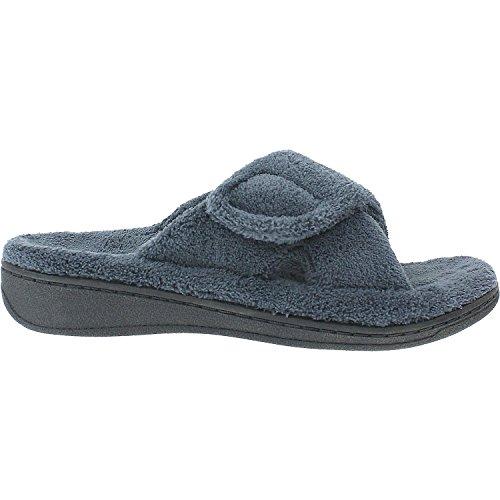 Vionic Womens Relax Slippers Grey 8 M