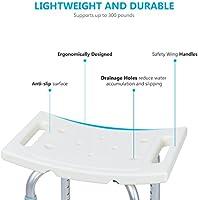 Amazon.com: OasisSpace - Silla de ducha, taburete de baño ...
