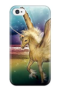 Elliot D. Stewart's Shop unicorn horse magical animaly Anime Pop Culture Hard Plastic iPhone 4/4s cases