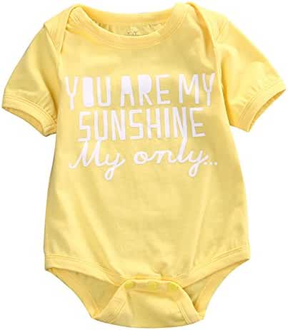 Rainbowlight Newborn Infant Baby Clothes T-shirt,Baby Tee