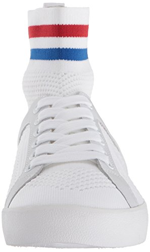 Ash Women's As-Ninja Sneaker White/Red/Blue mWh9TsiL