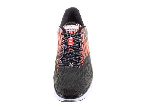 Hoka One Men's M Vanquish 2 Running Shoe Gris Orange Flash 086RBIRMgI