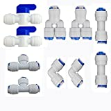 quick connect water fittings - Neeshow 1/4
