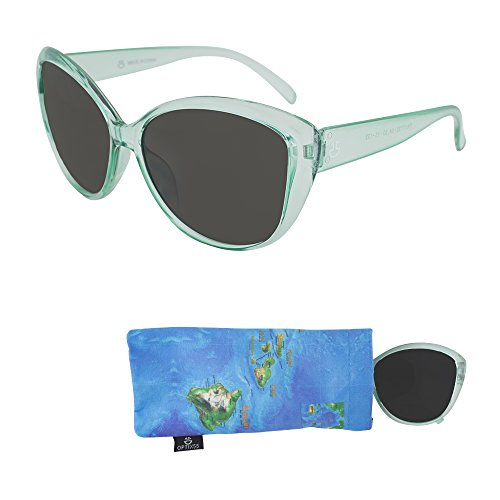 Sunglasses for Teens - Smoked Lenses for Teenagers - UV Protection - Crystal Frame Ages 12 to 18 ()