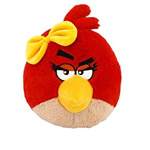 Peluche angry Bird Motivo: Red Girl
