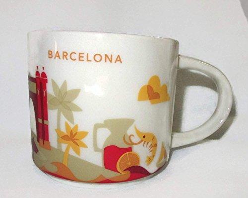 Starbucks Barcelona YAH Mug - You are Here - Coffee Cup - Espana - Prawn - Shrimp - Las Ramblas - (Barcelona Cup)