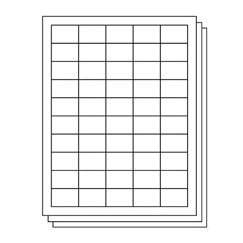 Barcode Label - OfficeSmartLabels Rectangular 1 x 1-1/2 Address/UPC EAN Barcode Labels for Laser & Inkjet Printers, 1 x 1.5 Inch, 50 per sheet, White, 7500 Labels, 150 Sheets