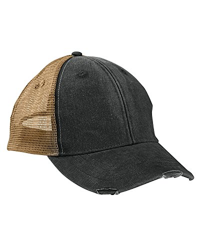 Adams Durable Structured Ollie Cap, FOREST/TAN, One Size (Twill Pigment Solid Dyed Cap)