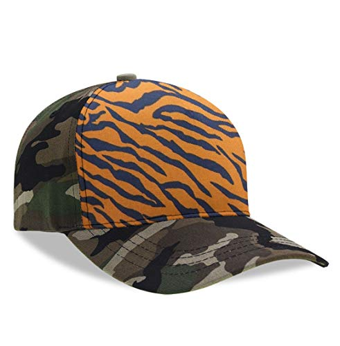 - YongColer Adult Men's Fashion Dad Baseball Cap Tiger Print Animal Print Cool Tech Hat, Breathable Moisture Wicking Dad Cap Peaked Cap Hip Hop Relaxed Fit Trucker Hat for Baseball Hiking