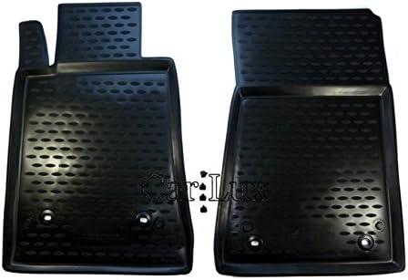 AR03354 Alfombrillas Alfombras de Goma a Medida para SLK R171 3D Tipo cubeta Car Lux