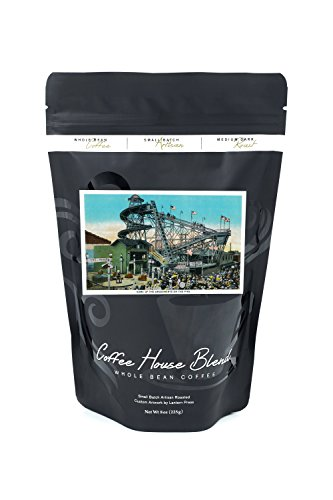 Amusement Rides at the Pike, Long Beach (8oz Whole Bean Small Batch Artisan Coffee - Bold & Strong Medium Dark Roast w/ - Long Pike Beach At
