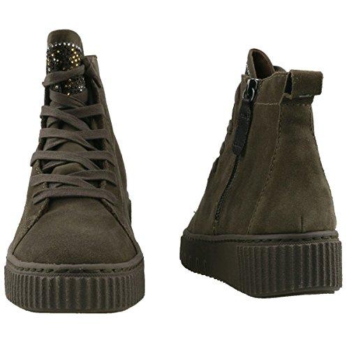 713 Olive Boot Women Tamaris Black Grün Trend dark Z4fCqxAw