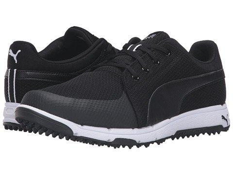 (プーマ) PUMA メンズゴルフシューズ靴 Grip Sport [並行輸入品] B06XRZFFKX 28.0 cm D - M ブラック/ホワイト