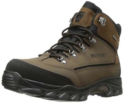 Wolverine Men's W05103 Spencer Boot, Brown/Black, 7 M US