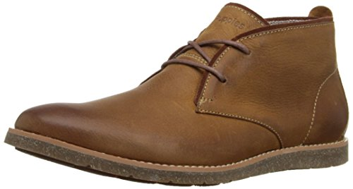 Hush Puppies Men's Roland Jester Chukka Boot, Cashew Leather, 8.5 M US