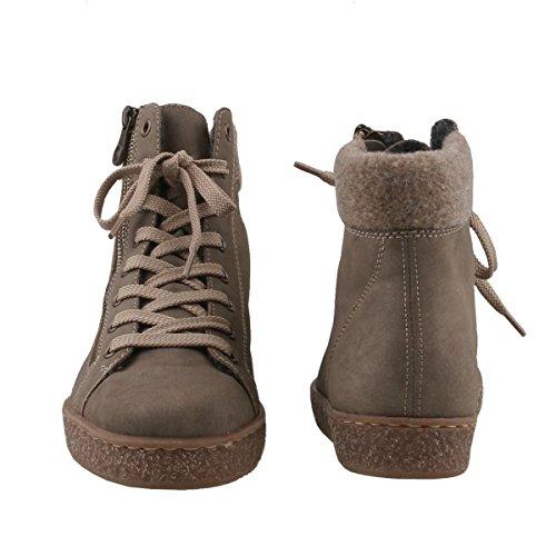Grau Womens Rieker Z4830 Boots 42 qxzIT