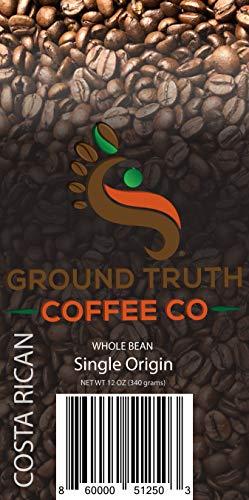 Costa Rican Coffee (Costa Rican Single Origin Whole Bean Coffee)