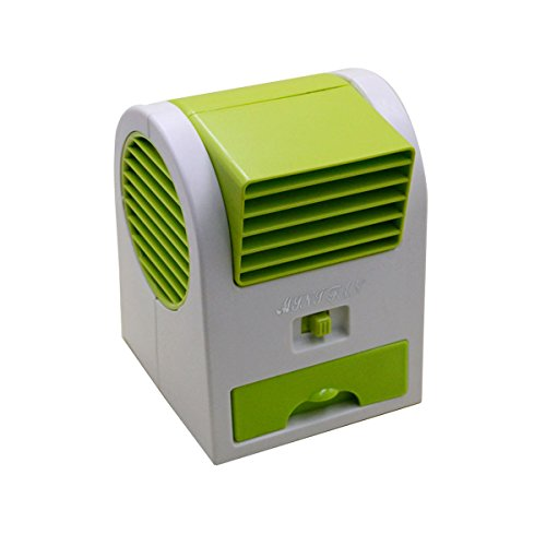 Price comparison product image Mily Desktop Mini Fan Adjustable Angles Scented USB Electric Air Conditioning Fan Mini Cooler Fan Personal Fan