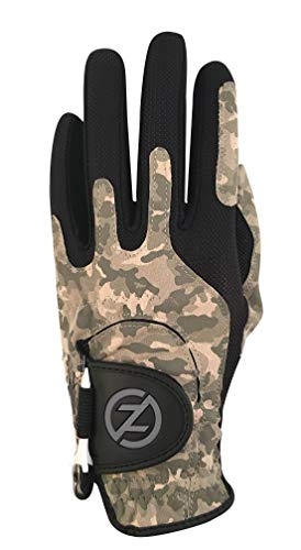 Zero Friction Performance Men's Golf Glove, Left Hand, Combat Camo