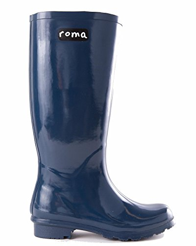 Style Roma Emma Womens: Bleu Chasseur Taille: 9