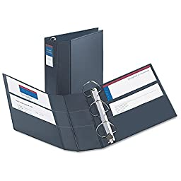 AVE79994 - Heavy-Duty Vinyl EZD Ring Reference Binder
