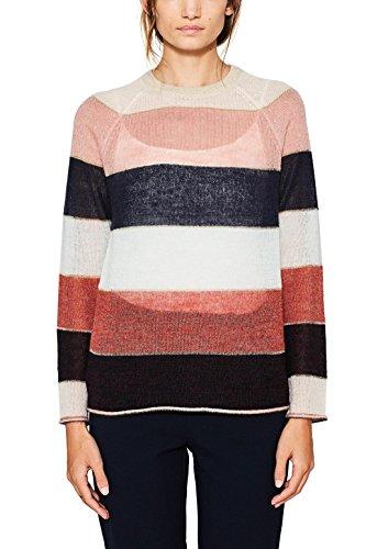edc by Esprit, Suéter para Mujer Multicolor (Light Beige 290)