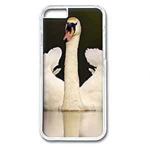 iCustomonline Adult Mute Swan in Threat Posture Designed Hard PC Transparent Case Cover Skin for iPhone 6 (4.7 inch)