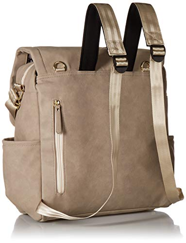 Petunia Pickle Bottom Boxy Backpack, Grey Matte Leatherette by Petunia Pickle Bottom (Image #1)