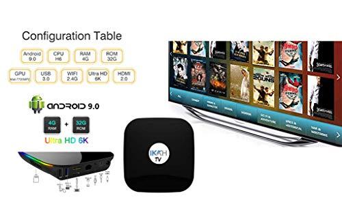 Arabia TV Box Super HD Receiver (Arabic TV Box with 3500 Channel) جهاز العائلة للقنوات العربية والعالمية (1 Year Subscription)