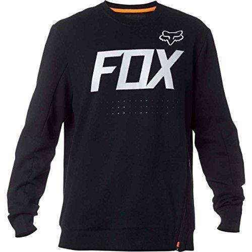 Fox Racing Krank Tech Crew Fleece - 18875-001 (Black - XXL)