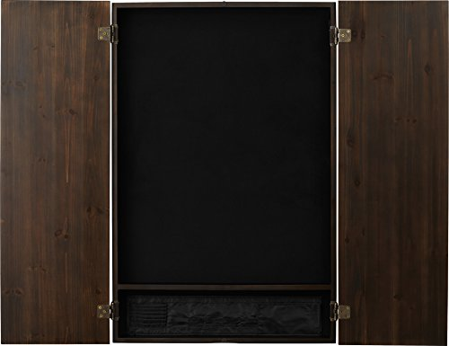 Viper Metropolitan Electronic Soft Tip Dartboard Cabinet: Cabinet Only (No Dartboard), Espresso Finish by Viper